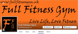 Full Fitness Gym Facebook Reviews 5*