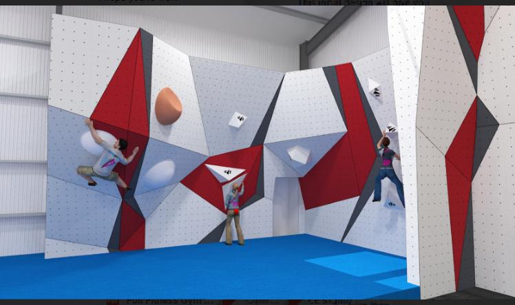Indoor bouldering in Watton Norfolk Plan Full Fitness Gym